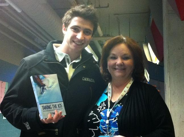 Pj and Scott Moir and book
