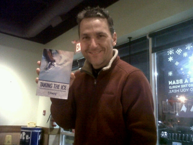Elvis Stojko and Pj's Book